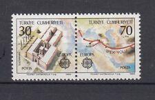 TURCHIA-TURKEY 1982 Europa 2360 A-B in coppia da foglietto MNH