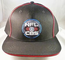 NFL on CBS SUPER BOWL 50 New Black Sports Football Hat Cap ABC NBC ESPN FOX TV!!