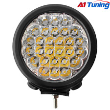 "1Pcs 7"" 140W CREE 28x5W Round LED Driving Light Spot Beam Jeep Off Road Lights"