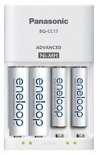 Panasonic BQ-CC17SBA eneloop Advanced Individual Battery Charger with 4 LED