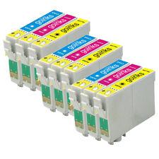 9 CMY Cartouche d'encre pour Epson Stylus D712 DX5000 DX8400 SX115 SX405 DX4450