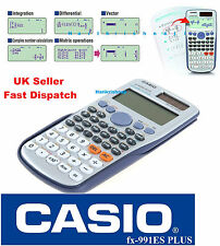 Casio FX-991ES Plus Full Scientific Calculator 417 Functions GCSE A-Levels Exams