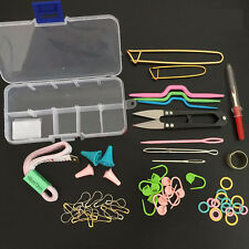 Knitting Tools Crochet Needle Hook Accessories Supplies With Case Knit Set