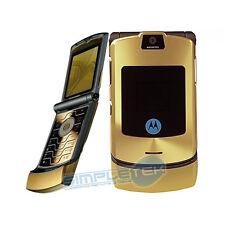 Motorola RAZR v3i oro SBLOCCATO utilizzabile con qualsiasi SIM - Garanzia italia