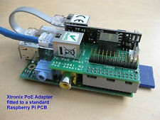 Raspberry pi b power over ethernet (poe) adaptateur