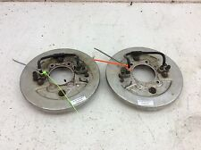 00 HONDA FOREMAN TRX 450 ES TRX450ES 4X4 LEFT & RIGHT FRONT BACKING PLATES M