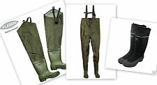 FISHING HIP/THIGH WADERS.STREAM.RIVER.SEA.SIZE 9