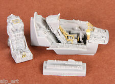 resin and photo etched Mirage IIIE/R cockpit set for Kinetic 1:48 SBS 48045