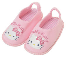 NEW AUTHENTIC SANRIO HELLO KITTY BABY ROOM SLIPPERS SHOES kids size 6-9  nonslip