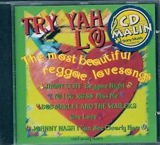 CD COMPIL 16 TITRES--TRY YAH LOVE / REGGAE LOVESONGS--CLIFF/MARLEY/TOSH/NASH...