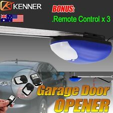 Kenner Garage Door Opener Roller Rolling Gate Motor Automatic with 3 Remotes