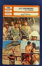 US War Movie Lost Command Anthony Quinn Alain Delon French Film Trade Card