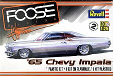 CHEVROLET IMPALA 1965  CHIP FOOSE CUSTOM REVELL 85-4190 1:25 PLASTIC KIT