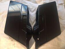 Harley Davidson OEM Touring Saddlebag Tubs Vivid Black 79093-93B & 79091-93B