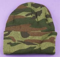 Camouflage Beanie Hat - Winter Warmer - Boys Stocking Fillers Army Party Favours