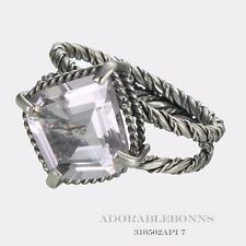 Authentic Lori Bonn Silver Pretty as a Picture Lotus Ring Size 6  310502API