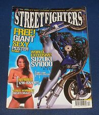 STREETFIGHTERS MAGAZINE DECEMBER 2002 - WORLD EXCLUSIVE! SUZUKI SV1000