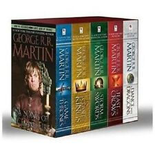 A Game of Thrones 5-Book Boxed Set by George R. R. Martin's