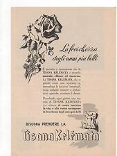 Pubblicità vintage TISANA KELEMATA BENESSERE advert reklame werbung publicitè