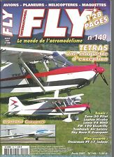 FLY N°149 PLAN : STEARMAN PT 17 INDOOR / TETRAS / DIAMANT GRAUPNER / LAMA V4