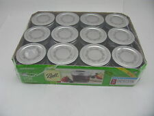 NEW Kerr Jelly Jars 12 count 4oz Quilted Crystal 4 ounce oz Lids Bands