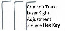 Crimson Trace laser sight adjustment Tool 3pc Specialty Allen Hex Key Small Size
