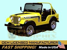 1974 Jeep Renegade CJ5 Decals & Stripes Kit