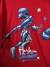 NWT Harlem Globetrotters Limited Edition Platinum FUBU Red Basketball T-Shirt 2X