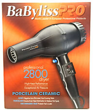 Babyliss Pro Porcelain Ceramic Super Turbo Hair Dryer BABP2800 Blow Dryers Salon