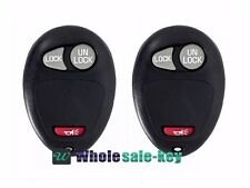 2 New Replacement Keyless Entry Remote Key Fob Transmitter Clicker Beeper Alarm