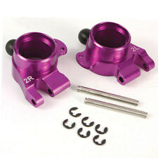 Yeah Racing HPI E10 Purple Aluminum 2 Degree Rear Hub Carrier Set E10-007D2PP