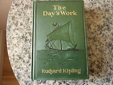 The Day's Work by Rudyard Kipling. First American edition in green cloth 1898