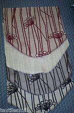 Bras caps et chaise dos protecteur 1 crème, 4 chocolat, 6 rouge, 10 noir.