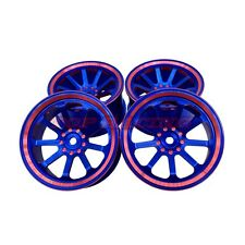RC 1/10 Aluminum Drift Wheel Rims 0 Offset For RC HSP HPI Kyosho Drift Car (4)