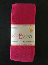 BNWT Ka-Boosh Brand Girls Age 1-2 Years Hot Pink Thick Footed Style Tights