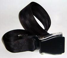 Seatbelt Gürtel mit Orginal Schnalle in schwarz Belt Einheitsgröße Nylon
