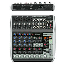 Behringer Xenyx QX1202USB Premium 12-Input 2-Bus USB Audio Interface Mixer