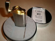 Vintage Colibri Platinum/Gold Flameless Lighter with Box (never fired/unused)