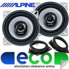 Mercedes A Class W169 2004-12 Alpine 360 Watts 2 Way Rear Door Car Speakers Kit