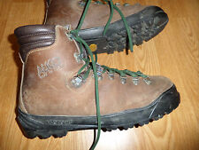ALICO VINTAGE BACKCOUNTRY MOUNTAINEERING SUEDE LEATHER HIKING BOOTS MEN'S 10.5 M