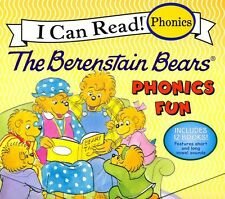 NEW BOXED 12 Books Berenstain Bears Lot Phonics Fun Children's I Can Read Books