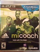Adidas miCoach (Sony Playstation 3 PS3) Train with the Best! New Video Game! Q67