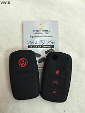 Volkswagen Limited Edition Silicone flip key cover - VW Polo, Vento, Jetta