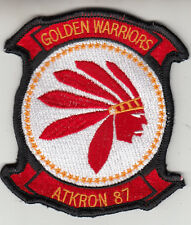 VFA-87 GOLDEN WARRIORS THROWBACK CHEST PATCH