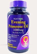 Natrol Evening Primrose Oil 500mg 90 Softgels 500 mg