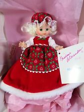 "MADAME ALEXANDER DOLL 8"" CHRISTMAS MRS. CLAUS 93-7"