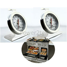 2x Ikea Oven Thermometer Stainless Steel Oven Cooker Temperature Agas & Rayburns