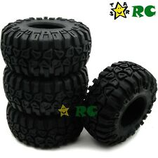 "4pcs New RC 1/10 2.2'' Crawler Tires Tyres W/ Foam for 2.2"" Beadlock Rims Wheels"
