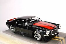CHEVROLET CAMARO 1971 BLACK 1:24 BIG TIME MUSCLE JADA 90532 DIECAST