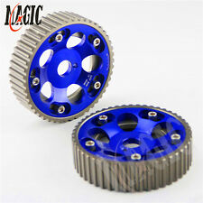 Adjustable Cam Gears Pulley Timing Gear for TOYOTA Supra 1JZ 2JZ BLUE 2PCS